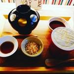 茶々助 - 焙じ茶わらび&黒豆焙じ茶ラテ♡