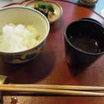 京料理 かじ - ご飯