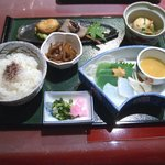 ひのや - 永源寺定食(湯豆腐付:1800円)