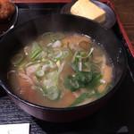 太郎 - 日替り 豚汁