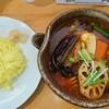 カレー気分 - 料理写真:チキンやさいと少なめライス
