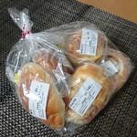 モグモグ - 料理写真:本日のおすすめパンセット 500円
