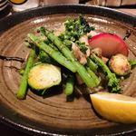キッチンリブス - 料理写真:本日のお野菜のアンチョビソテー 950円