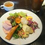 101998945 - サラダ & スープ