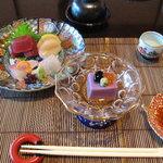 102665 - 前菜と御造り(2)