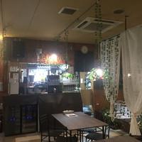 大衆ビストロYASUDA-キッチン方向
