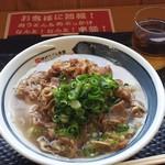 丸宮製麺 - 料理写真:肉うどん(中)