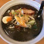 魔女のカレー - 「黒ゴマカレー担々麺」990円