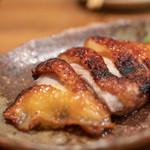 比内地鶏本格焼酎 海舟 - 2019.2 比内地鶏 もも肉 一枚焼き(1,500円)