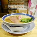 サバ6製麺所 - [2018/12]サバ塩そば(700円)