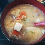旬魚介×串揚げ Kushi‐Toria M's - 豚肉、根野菜たっぷり