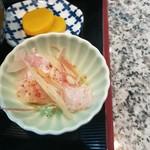 旬魚介×串揚げ Kushi‐Toria M's - 鯛刺身も少々