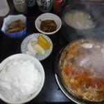 いちふじ - 料理写真:いちふじ定食(カツの玉子とじ)