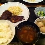 和飲。ほの字 - 鯖の葱味噌焼き定食