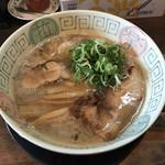 拉麺ノスゝメ 諭吉 - 料理写真:魚介風味しょうゆラーメンこってり