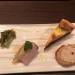 ワインと天ぷら マエヤシキ - 料理写真: