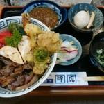 夢 - 料理写真:「山賊丼」