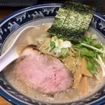 ○心厨房 - 「濃熟塩らーめん」780円也。税込。
