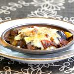 北信州の旬野菜たっぷりレストラン しんこきゅう - アボカドと豆腐のカマンベールチーズ焼き