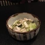 北信州の旬野菜たっぷりレストラン しんこきゅう - やみつきキャベツ