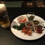北信州の旬野菜たっぷりレストラン しんこきゅう - おつまみプレート