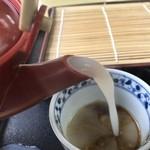 ひはら - かつて美味さ屈指の茹で汁