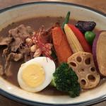102015510 - ラムしゃぶと季節野菜のカレー(中辛)