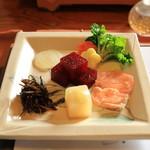 東会芳 - 前菜
