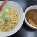 ダルマヤラーメン - お米のつけ麺・大盛無料(950円)