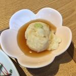 小割烹 おはし - 葛豆腐
