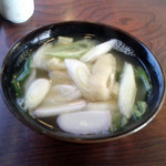 つばめ屋 - 料理写真:志の田うどん
