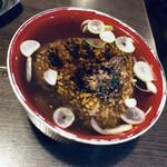 牛の四文屋 - 焼きおにぎりスープへイン