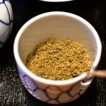 明神下 神田川 - 山椒