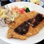 カフェレスト花泉 - 料理写真:ランチみそかつ 700円