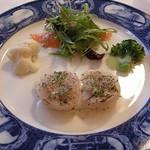 Yokohamamotomachimutekirou - 帆立貝のサッと網焼きと三浦大根のコンフ