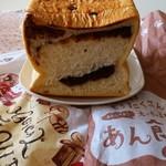 ハートブレッド アンティーク - 「太っちょ王様のあん食パン」1斤、税別430円