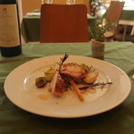 オステリア ジョイア - 信玄鶏のロースト