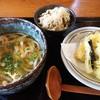 饂飩 梵蔵 - 料理写真:天盛うどん、とりごぼう飯とセットで