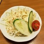 カレー オハナ - サラダ