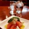 漁師料理 フレスコ - 料理写真:お通し?トマト、チーズのカプレーゼ、、かな