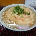 柳川 - 料理写真:天ぷらうどん(小)