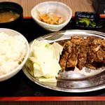 102035712 - 親鶏骨付きモモ定食(ご飯大)