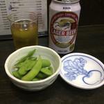 おか茂 - サービスの枝豆
