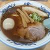 らーめん もんつきかかか - 料理写真:【正油らーめん + 味付玉子】¥700 + ¥100