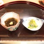 102039085 - ツキ・ダシ。菜の花胡麻和え、アーンド、モ・ズーク