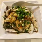 川香苑 -  旬の魚山椒ソース和え