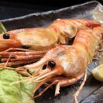 Kiyomasa - 牡丹海老の塩焼き