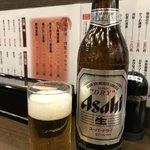 102047353 - 瓶ビール(大瓶)@380円