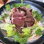 102048431 - 知床産エゾ鹿のロースト丼