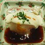 Yamagishi - フグ刺身、白子